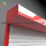 Automatic Mechanical Lock Aluminum Garage Industrial Warehouse Roller Rolling Shutter Door