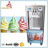 Microcomputer Control Rainbow Soft Serve Ice Cream Machine