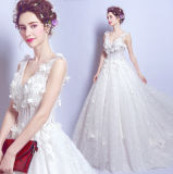 Wholesale in Stock Cheap Bridal Dress Fashion Wedding Gown 2018