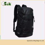 Black Drawstring Hiking Sports Travelling School Bags Outdoor Leisure Rucksack Student Backpack