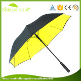 Hot Sale Logo Custom Automatic Open Double Layer Windproof Golf Umbrella