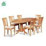 Modern Restaurant Furniture Wooden Dining Table Set with Chairs
