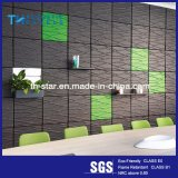 3D Background Interior Decorative Polyester Fiber Acoustic Wall Panel / Ceiling Panel