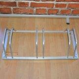 Steel Tube Floor Mounted Bike Stand Bike Display Rack for 3 Bike
