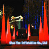 Hot Sale LED Light Inflatable Columns Balloon for Advertising