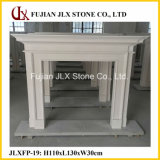 Customized Interior Marble Fireplace Mantel