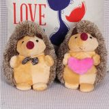 Couple Pedgehog Stuffed Animals Doll