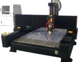 Heavy Duty Body 3D Stone Carving CNC Router Machine, Marble Stone Cutting