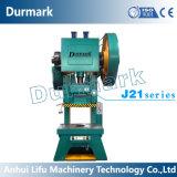 J21-100tons Manual Power Press Machine Price Iron Steel Punching Machine