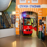 Electric Fire Truck for Amusement Park