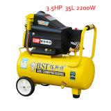 3.5HP Direct-Driven Portable Piston Screw Air Compressor