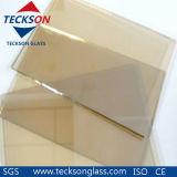 5mm Golden Clear Reflective Float Price Glass for Windows & Door
