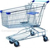 Asian Style 120L Volume Liter Shopping Trolley Supermarket Shopping Cart