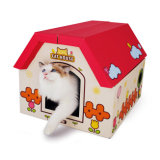 ODM High Quality Wholesale Cat Toy Scratcher House