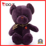 Wholesale Stuffed Animal Purple Super Soft Bear Toy Plush