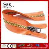 Hot Sale High Quality Plastic Zipper Waterproof Zipper for Garments