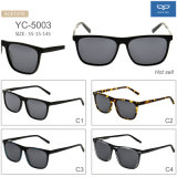 New Fashion Full Frame Sunglasses Acetate Eyewear UV400 Protection Lens for Men Factory Directly Supply Ready Goods