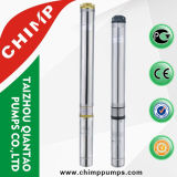 Single-Phase Screw High Pressure Deep Well Submersible Water Pump