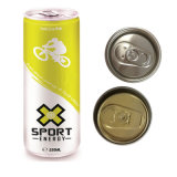 Full Color Printed Sparkling Drink Can 250ml Sleek