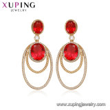 2019 Hot Xuping 18K Gold Color Earring