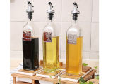 Clear Glass Olive Oil Bottle