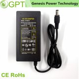 12V 4A AC/DC Switching Laptop Power Supply, Travel Power Charger Desktop Adapter for LED Device (C6 C8 C14 Connecter)