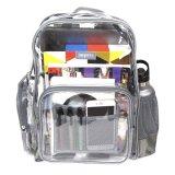 Custom Logo Have Duty Plastic Transparent Clear PVC Backpack