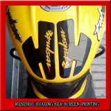 Customized Motorcyle Tank PU Dome Crystal Printing Label & Sticker 3m Strong Adhesive