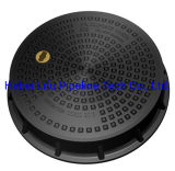 High Quality SMC Watertight Composite Manhole Cover D400 BS En124 China Supplier