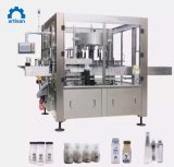 High Speed Water Juice Bottles Automatic Can Shrink Sleeve Wrapping Label Machine