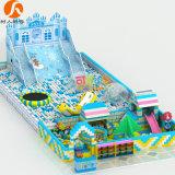 Ice-World Indoor Theme Playground Equipment with Inflatable & EPP Building Blocks