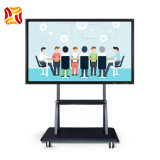 Touch Pie Interactive Whiteboard All-in-One 65 Inch 10-Point IR Touch Screen LCD Display for Office and School Smart Whiteboard