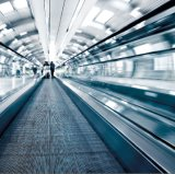 FUJI sanyo Passenger Conveyor moving walkway with Step Width 1000mm~1400mm