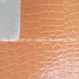 High Quality PVC Leather Fabric for Sofa Chair Furniture Hw-876