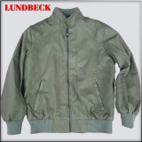 Men′s Suede Jacket with Good Quality