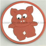 Custom Soft PVC Rubber Glass Coaster for Souvenirs