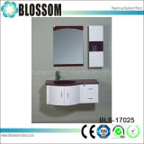 PVC Bathroom Furniture with Side Cabinet Bathroom Vanity Unit (BLS-17025)