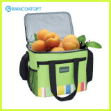Food Use Polyester Insulated Lunch Cooler Bag with Front Pocket