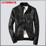 Best Sell PU Jacket for Men Casual Leisure Coat