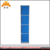 Metal Furniture Vertical 4 Door Steel Storage Locker