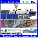 Double Color PVC Beauty Spray Silk Carpet Extrusion Line