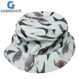 100%Polyester Sun Hat with Digital All Over Print on Shell (LY020)