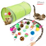 Lowest Price 21PCS Cut Cat Toy Most of Design Toy