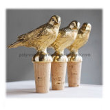 Pewter Bird Wine Bottle Cork Zince Alloy Bottle Cork
