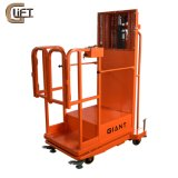 China Mnufactory Low Profile Work Positioner Semi Electric Lift Table Aerial Order Picker Hydraulic Cargo Lifting Lifting Equipment (SEP3)