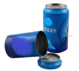 Cola Shaped Gift Tin Box Underwear Tin Can Beer Can Towel or Shirt Tin Box