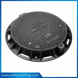 OEM Iron Casting Hinged Round Manhole Covers for Sewer Drain