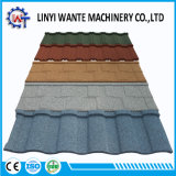 0.4mm Thickness Roofing Material Colorful Stone Coated Metal Roof Tile