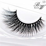 Wholesale Price Own Brand Private Label Mink Fur Natural Eyelashes