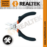 Nickel-Planted Mini Diagonal Cutting Pliers with Raised Shoulder